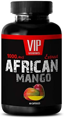 African Mango Seed Extract – Pure African Mango 1000mg 4 1 Extract – Weight Loss 1 Bottle 60 Capsules