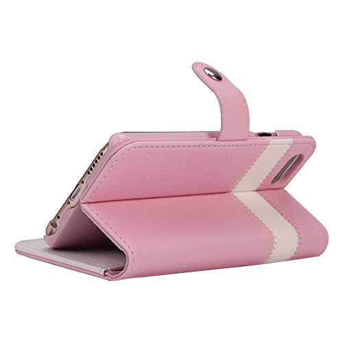 AceAbove iPhone 6S Wallet Case, Premium PU Leather Wallet Cover with [Card Slots] & [Stand] Function for Apple iPhone 6 (2014)/iPhone 6S (2015) – Pink by AceAbove (Image #6)