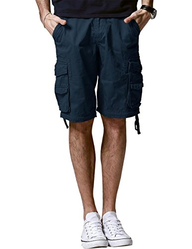 Match Men's Comfort Cargo Short (Label Size 5XL/42 (US 40), 3056 Blue)