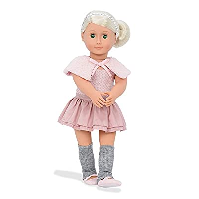 Our Generation Alexa-Doll with Ballet Dress and Capelet Doll, 18