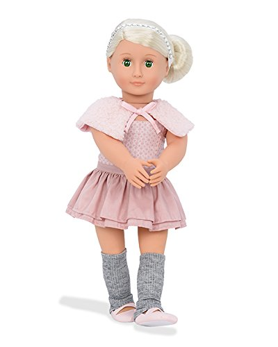 df4169a01e65 Amazon.com: Our Generation Alexa-Doll with Ballet Dress and Capelet ...