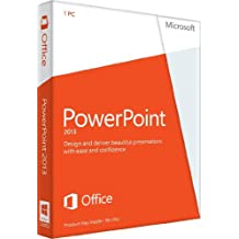PowerPoint 2013 English (1PC/1User) (PC Key Card)