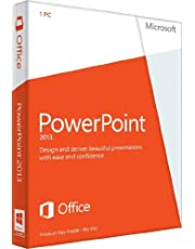 PowerPoint 2013 French (1PC/1User) (PC Key Card)