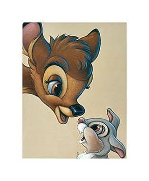 Leinwand Bambi And Thumper Best Of Friends Von Disney Bild