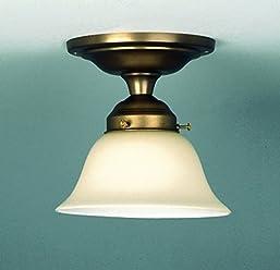 LMS Leuchten Beleuchtungsglas S-749 Weiss-Matt H 11 cm///Ø 30 cm Lampenschirm Glas Jugendstil Art-Deco Landhaus klassisch