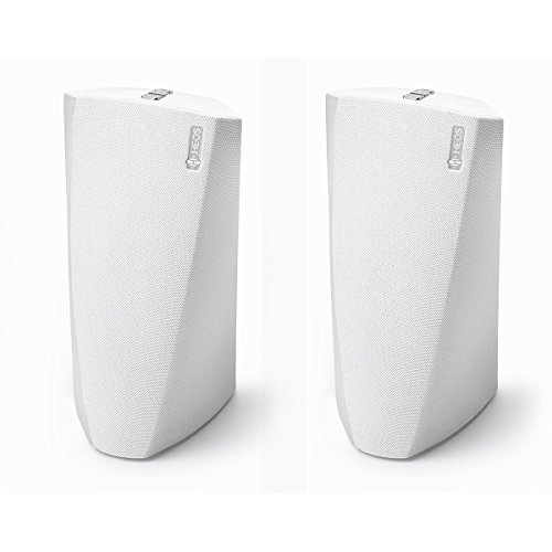 Denon HEOS 3 Dual-Driver Wireless Speaker System - Series 2 Pair (White) by Denon