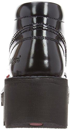 Kickers Kopey HI Leather AF, Bottines femme Noir - Noir