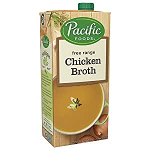 Pacific Foods Free Range Chicken Broth, 32oz, 12-pack