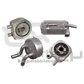BEHR HELLA SERVICE 8MO 376 797-111 Radiador de aceite, aceite motor: Amazon.es: Coche y moto