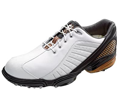 NEW FootJoy Sport WHITE/BLACK/BRONZE Size 9.5 M Golf Shoes Closeout 53213