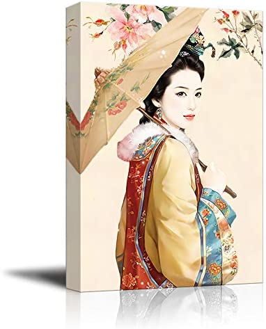 Chinese Classical Beauty Painting Wall Bedroom Living Room