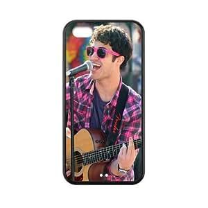 Customized Darren Criss TPU Case for Iphone 5C Kimberly Kurzendoerfer