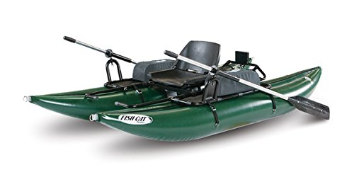 - Outcast Sporting Gear Fish Cat Panther Inflatable Pontoon Boat Green