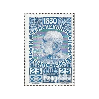 Autriche 169 1910 Empereur-Anniversaire (Timbres pour les collectionneurs)
