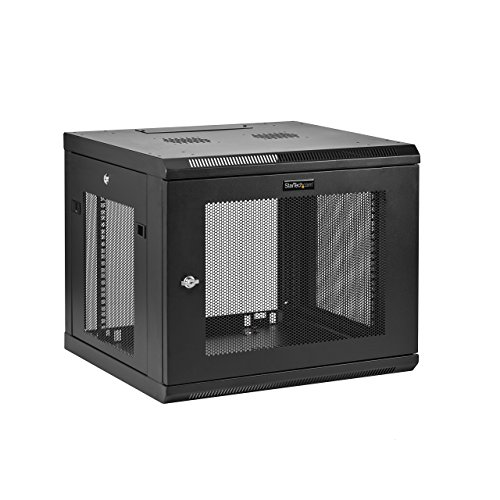 StarTech 9U Wall-Mount Server Rack Cabinet - Up to 20.8 in.