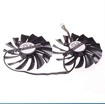 E-Meoly PLD10010S12HH - Ventilador para Tarjeta gráfica (12 ...