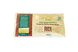 organic short grain rice