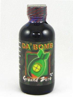 Da Bomb Sauce - Da Bomb Ground Zero Hot Sauce (Pack of 6)