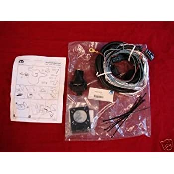amazon com jeep wrangler jk 7 pin trailer wiring oem mopar this item jeep wrangler jk 7 pin trailer wiring oem mopar