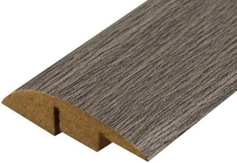 Barra de puerta laminada perfil de 0,9 m gris roble LD17 umbral de 900 mm a juego con Krono Quickstep y Pergo