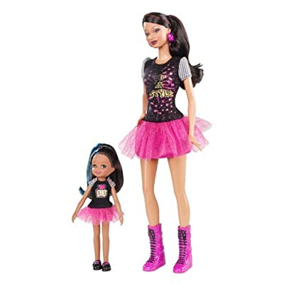 Barbie So In Style Locks Of Looks Trichelle And Janessa Dolls: Toys & Games