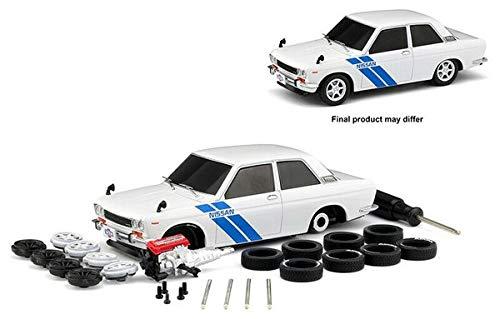 New DIECAST Toys CAR M2 MACHINES 1:24 Model-KIT - 1970 Datsun 510 (White) - Model 510 Datsun