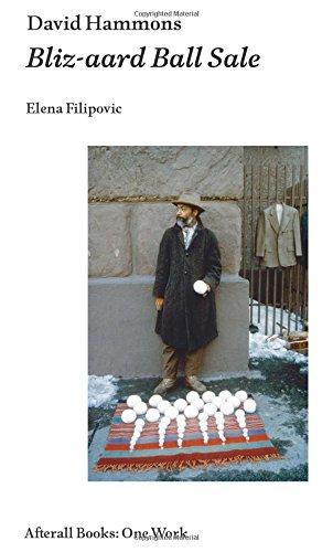 David Hammons: Bliz-aard Ball Sale (Afterall Books / One Work)