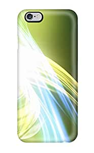 LYmOiLc2303YuzGO Snap On Case Cover Skin For Iphone 6 Plus(green Abstract)