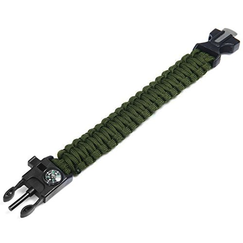 Survival-Paracord-Bracelet-5-In-1-Outdoor-Paracord-Survival-Kit-Parachute-Cord-Buckle-with-Compass-Fire-Starter-Whistle-Emergency-Knife-Scraperpack-of-2-Multi-Camouflages