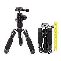 Koolehaoda KQ-166  Trípode de sobremesa ultracompacto Mini trípode portátil de viaje Trípode Con la cabeza de bola  por  Cámara Nikon DSLR de Canon Cámaras digitales