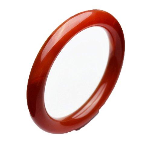 (Fine natural bracelet Red agate Bangle Hand catenary Elegant fashion)