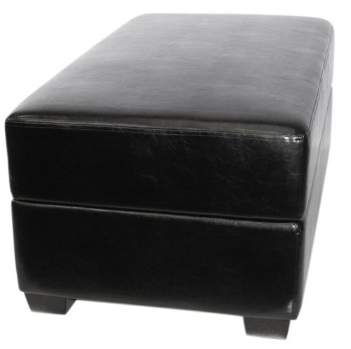 (AK Rock Box Gaming and Storage Ottoman with Drum Lift (Black))