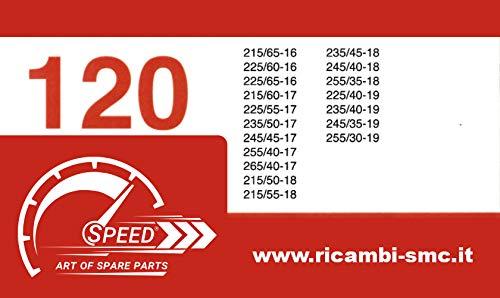 Catene da Neve OMOLOGATE Speed 9mm /Ö-Norm 5117 T/ÜV 245//40 R 18 Gruppo 120