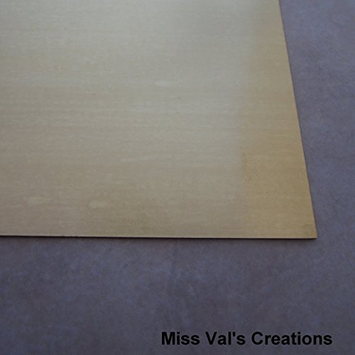 Jewelers Bronze Sheet 22 Gauge for Jewelry Making