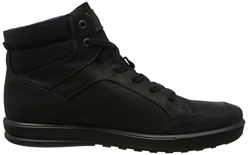 Ecco Men Sneaker Alta Ennio Nero (nero / Nero)