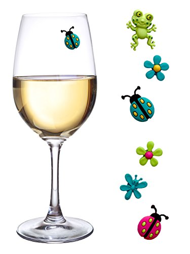 Magnetic Markers Cocktail Identifiers Ladybug product image