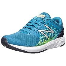 New Balance Kid's FuelCore Urge V2 Running Shoe, ozone blue/hi lite, 1.5 XW US Little Kid