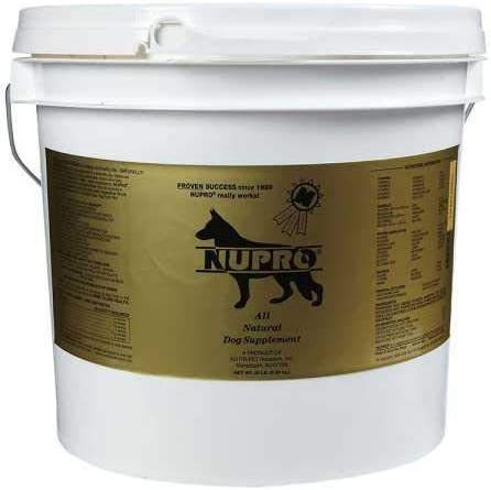 Nupro All Natural Dog Supplement 20 lb