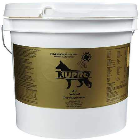 Nupro All Natural Dog Supplement (20 lb) by Nupro