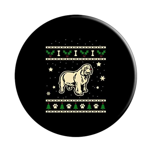 Funny Clumber Spaniel Dog Gift PopSockets Grip and Stand for Phones and Tablets 3
