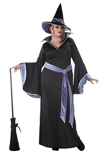 Plus Size Bo Peep Costumes (Plus Size Incantasia The Glamour Witch Adult Halloween Costume)