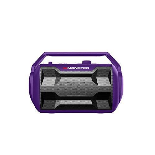 Monster NOMAD 30 Watt, 30 - Hour Portable Water Resistant Outdoor/Indoor Bluetooth Wireless Speaker -