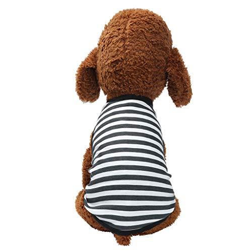 Gogoodgo Pet Shirts Super Cute Puppy Vest Tank Tops Dogs Summer Shirt Soft Sweatshirt