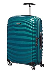 Samsonite - Lite-Shock Spinner 55 cm, Azul (PETROL BLUE)