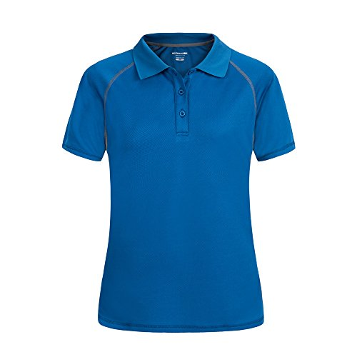 Moheen Women 39 S Moisture Wicking Button Stretch Pique Polo