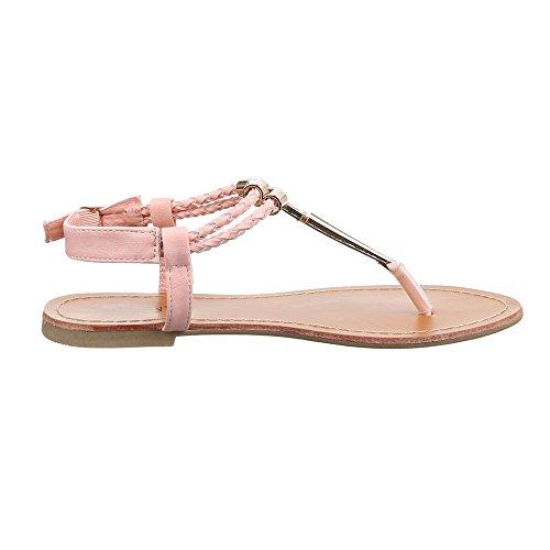 Ital-Design - Zapatos con tacón Mujer Rosa