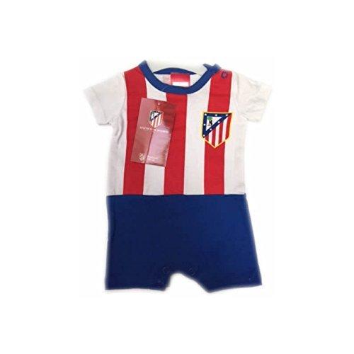 Body Bebe Atletico de Madrid equipación - 12Meses: Amazon.es: Deportes y aire libre
