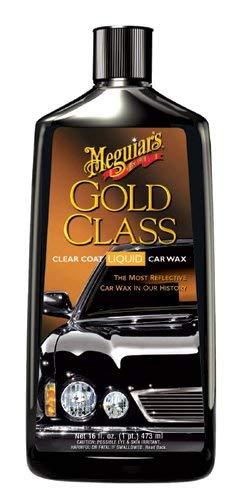 Meguiar's G7016 Gold Class Carnauba Plus Premium Liquid Wax, 16 Fluid Ounces, (Meguiars G18216 Ultimate Liquid Wax 16 Oz)