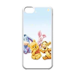 iPhone 5C Phone Case White Winnie the Pooh ES3TY7842249