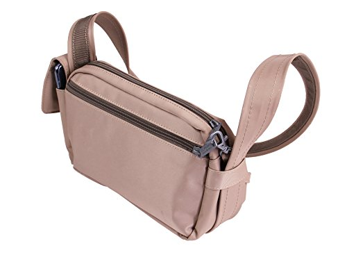 Be Safe Bags Anti-Theft Waist Travel Bag, 3-Way Convertible